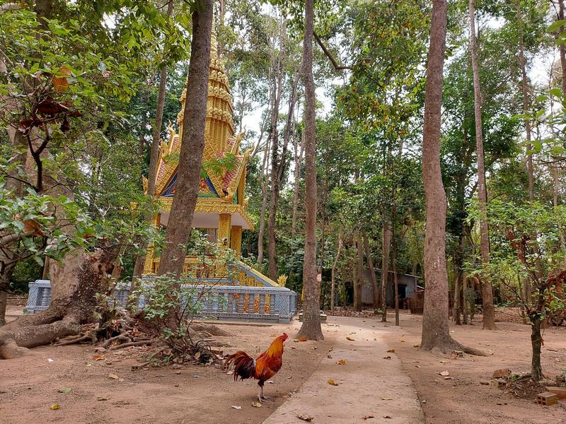 Mahatup Pagoda rooster