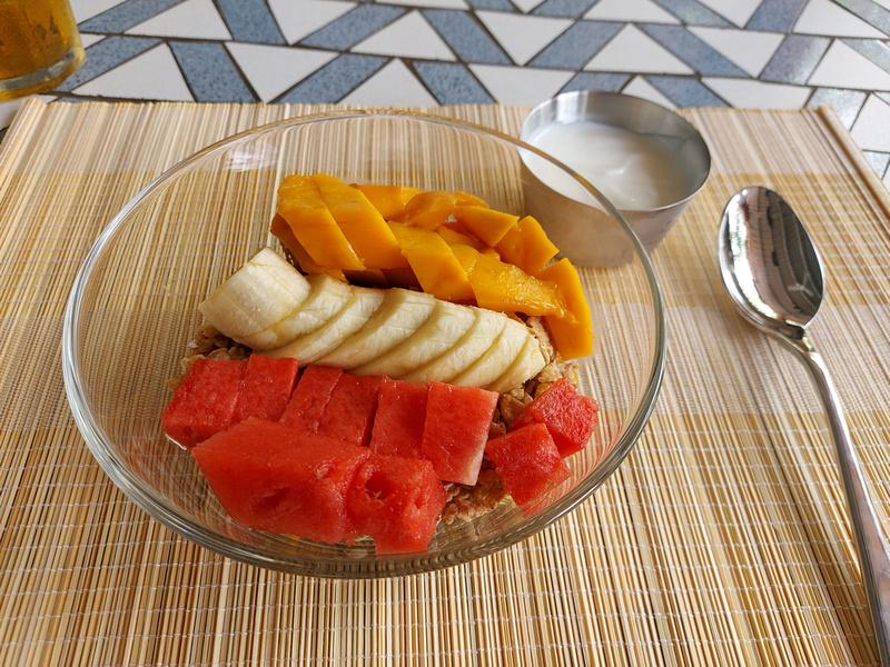 Fruit muesli