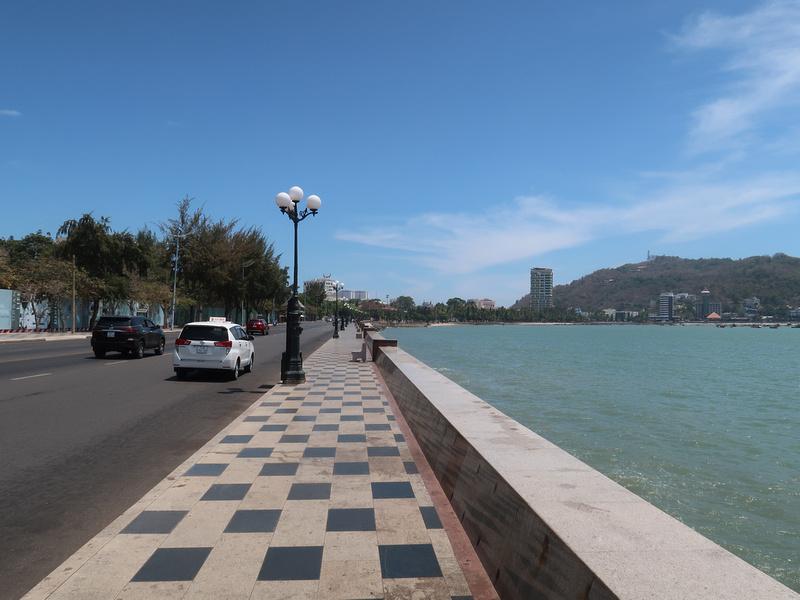 Walk from pier