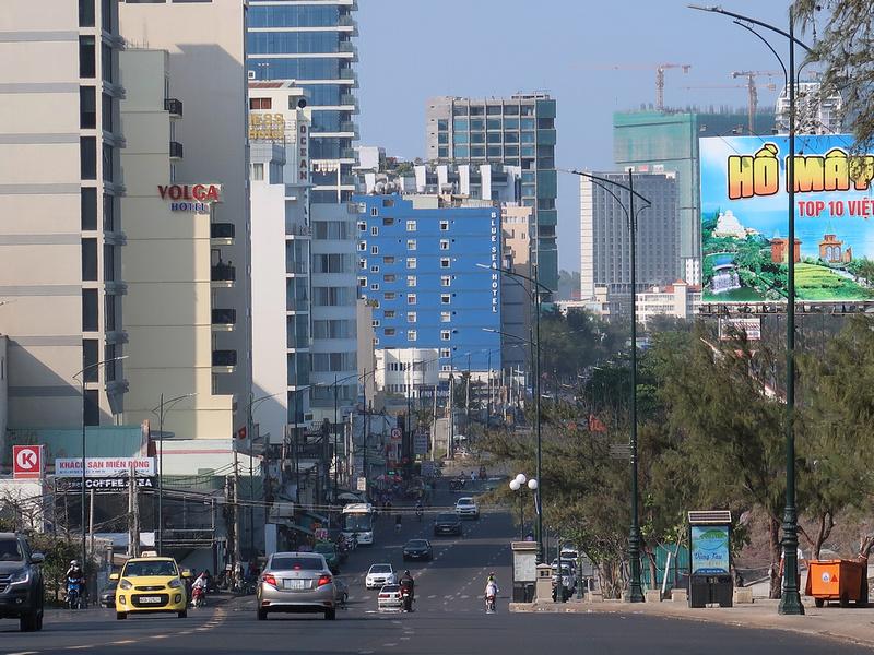 Thuy Van skyline