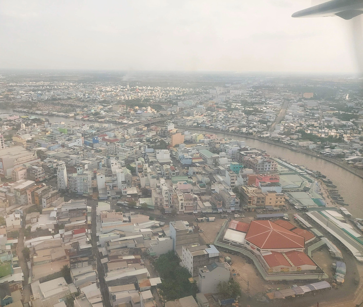 Flying over Ca Mau