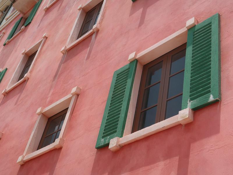 Concrete window shutters