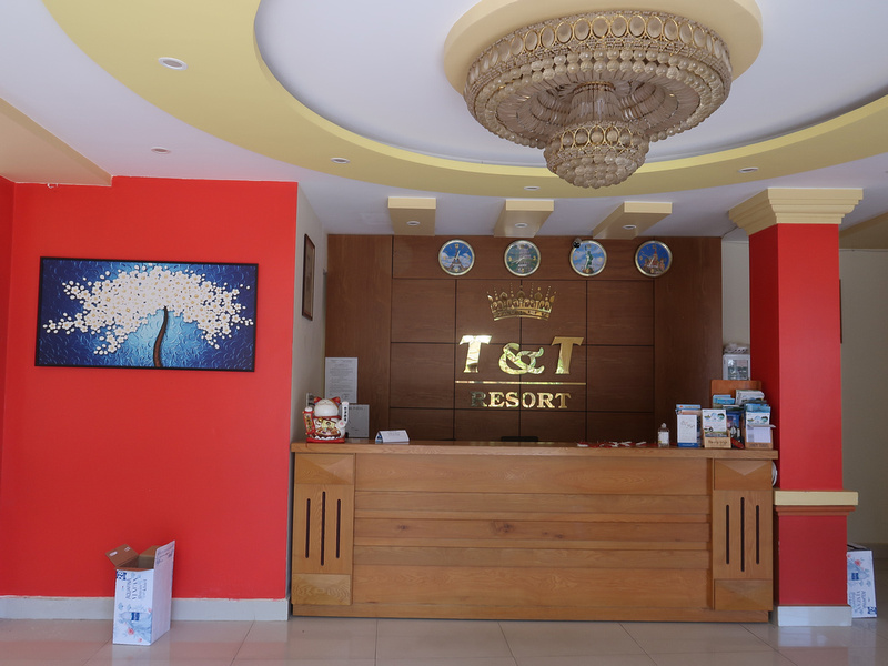 T and T reception