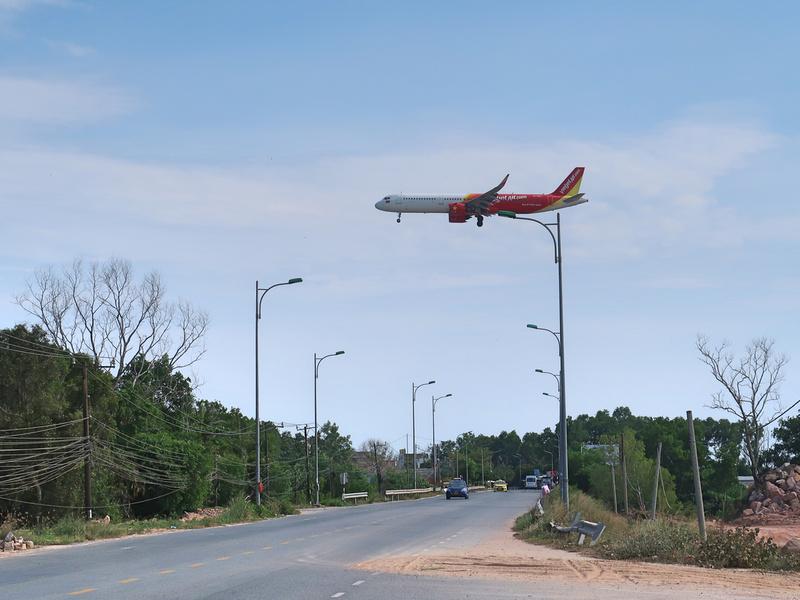 Phu Quoc flight path