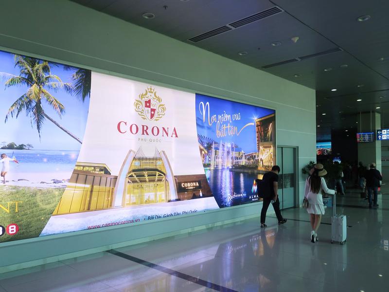 Corona advertising