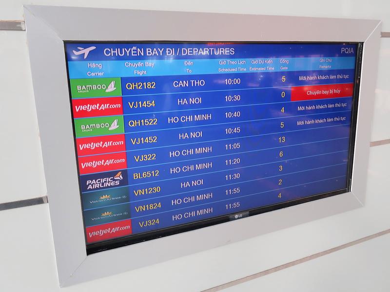 Phu Quoc International Airport departures