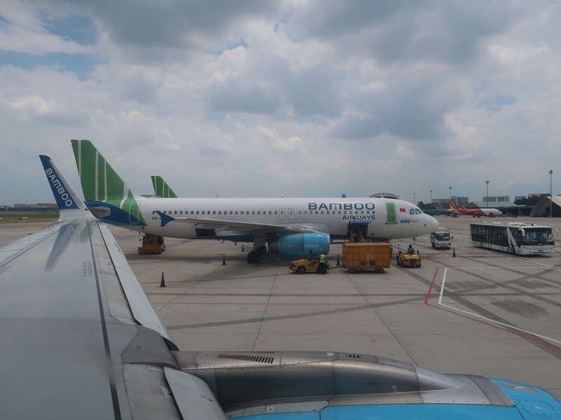 Bamboo Airways at SGN