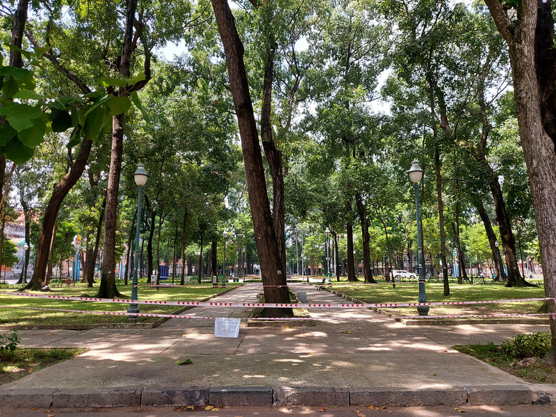 Closed park