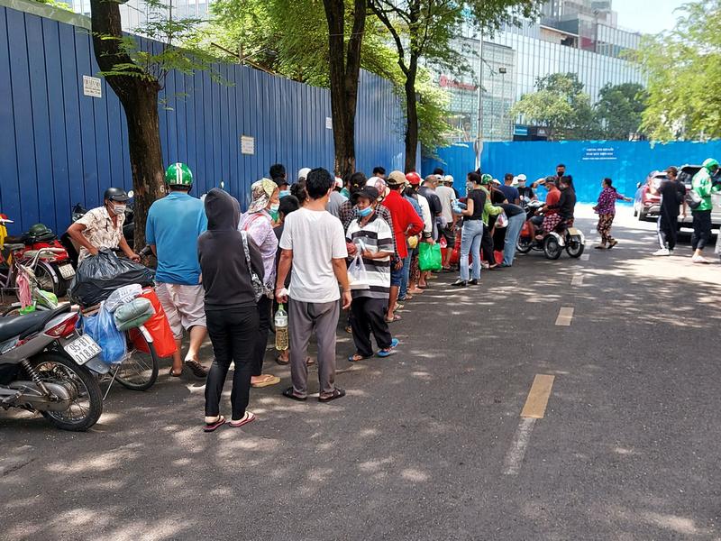 Lunch queue