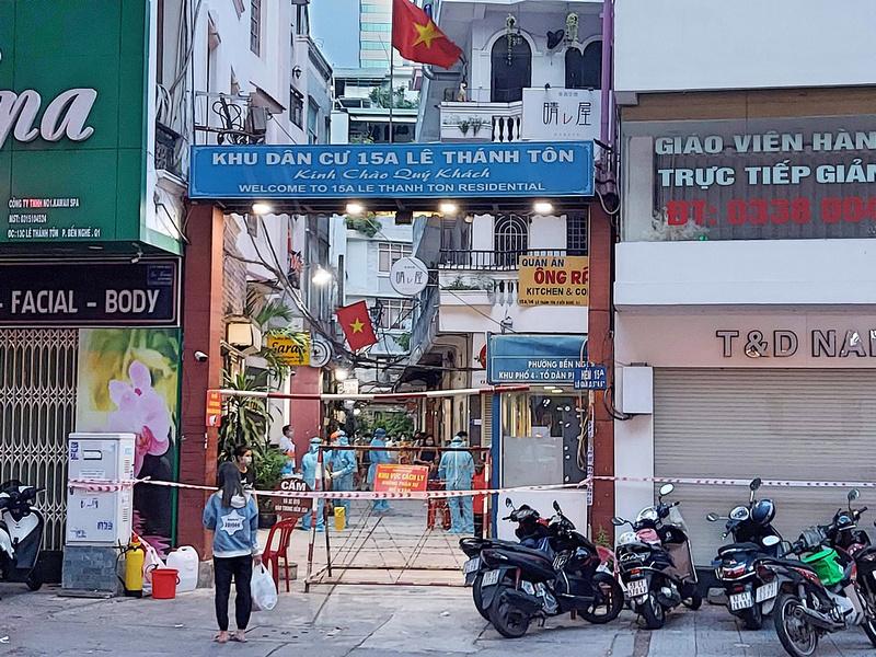 Le Thanh Ton lock down