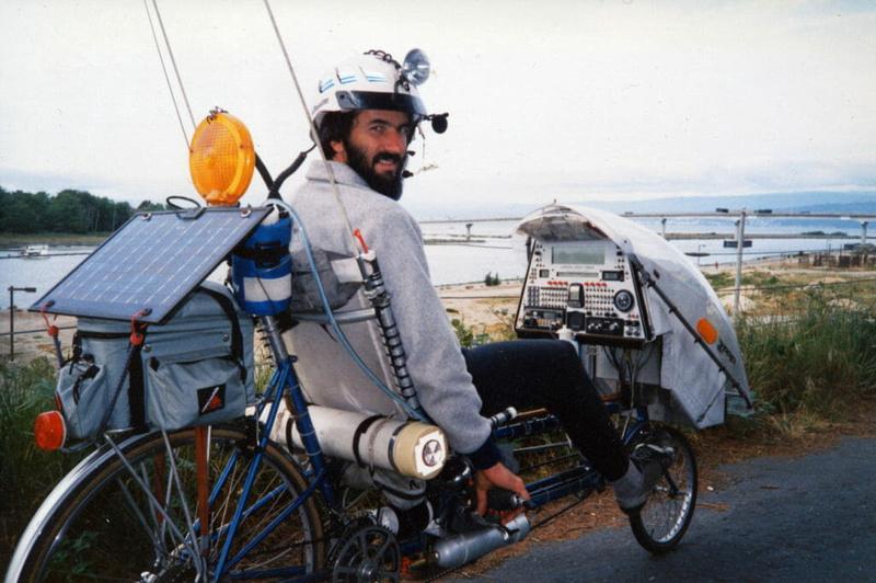 Steve Roberts - the first digital nomad