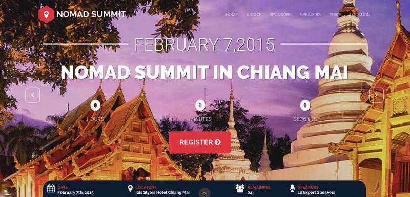 Nomad Summit Chiang Mai - 2015