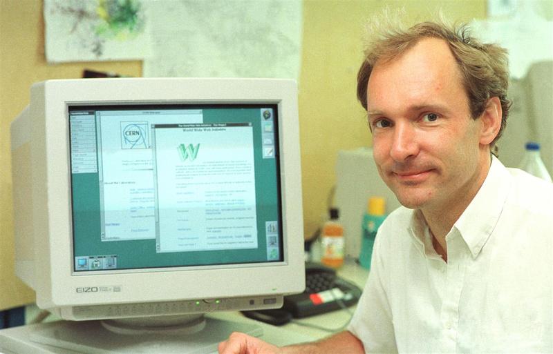 Tim Berners-Lee at CERN