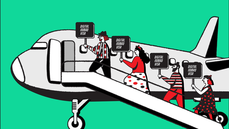 How the rise of 'digital nomad' visas will drive the global battle for talent