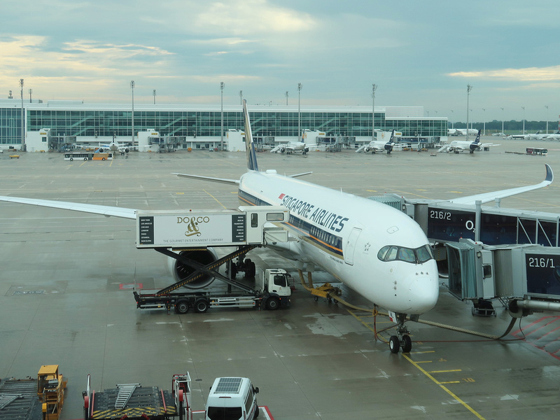 Singapore Airlines at MUC