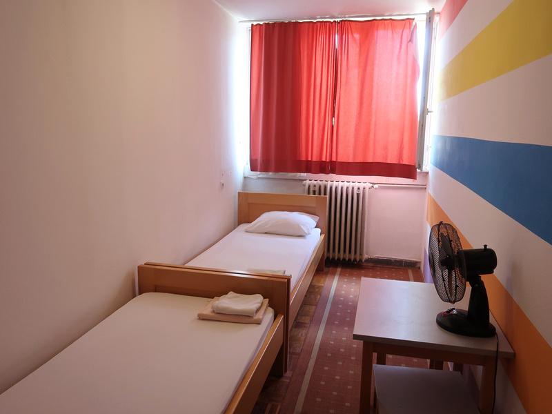 HI Hostel room