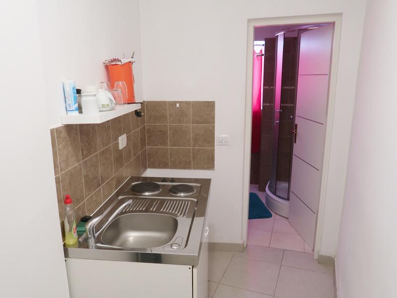 Apartment kitchenette
