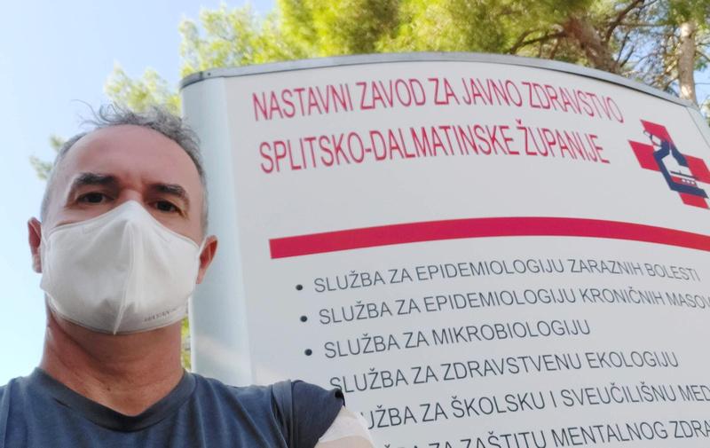James vaccinated in Split