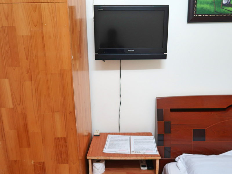 TV and table