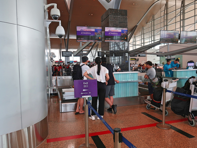 HK Express check-in