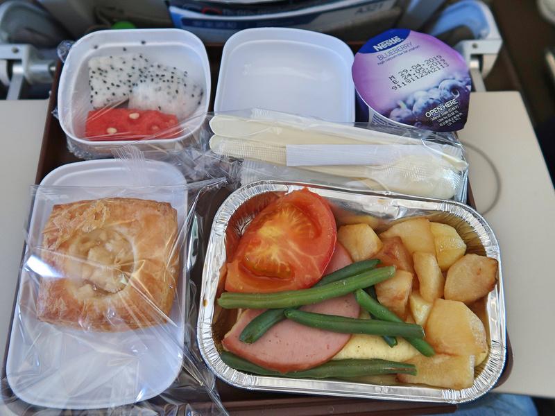 HKG-PVG breakfast