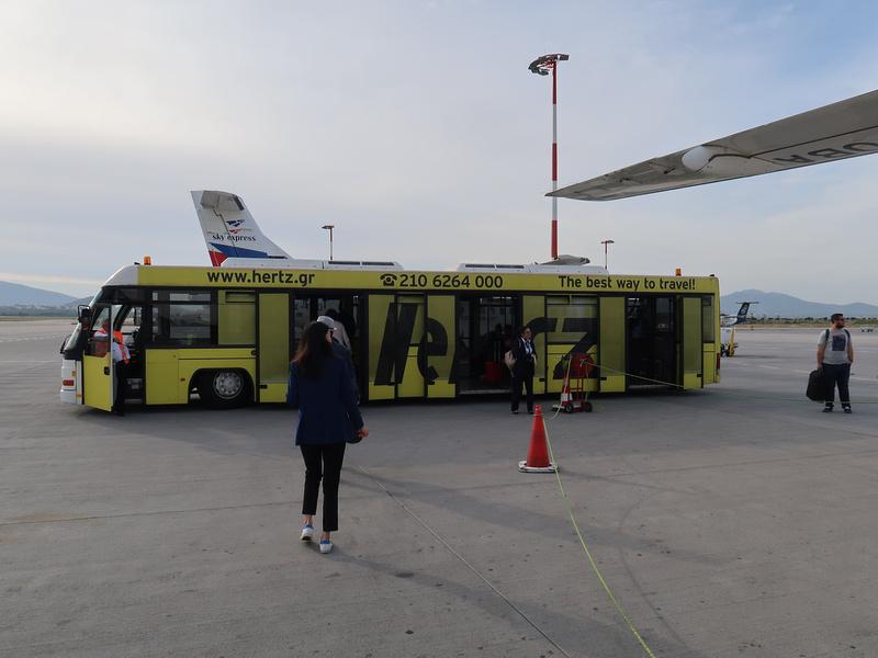 Tarmac bus