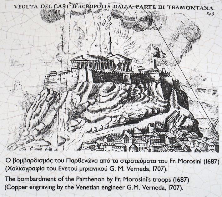 Bombardment of Parthenon