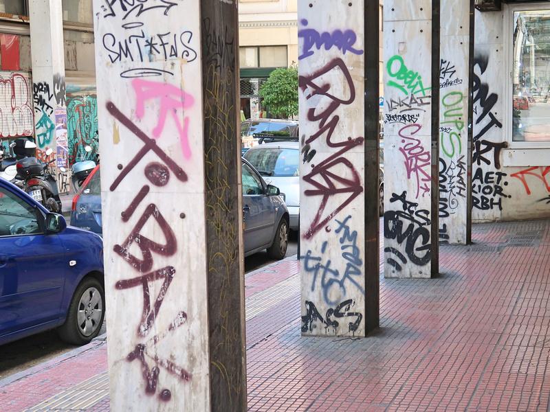 Graffiti. Graffiti Everywhere.