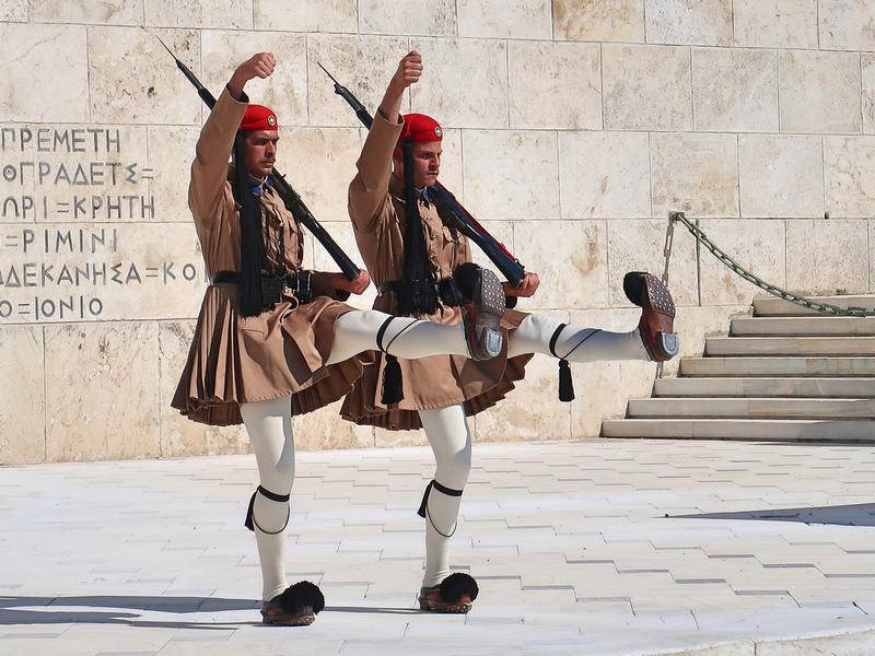 Syntagma Square guards