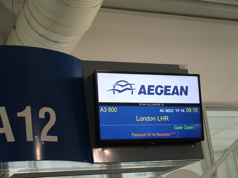 Aegean to London
