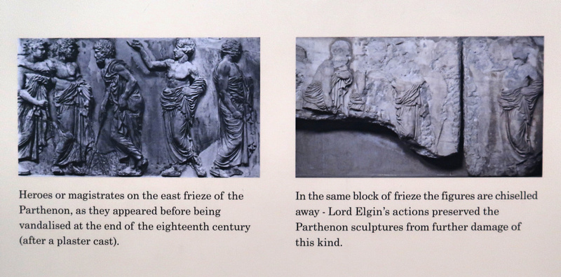 Lord Elgin's actions