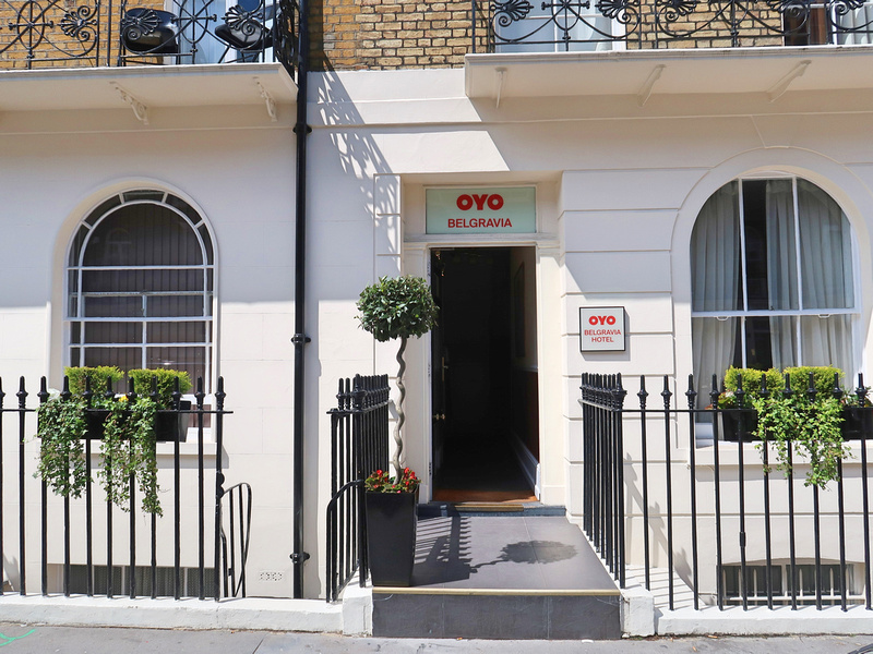 Hotel Review:  OYO Belgravia Rooms, London