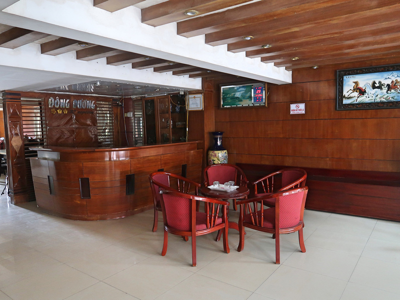 Reception lounge