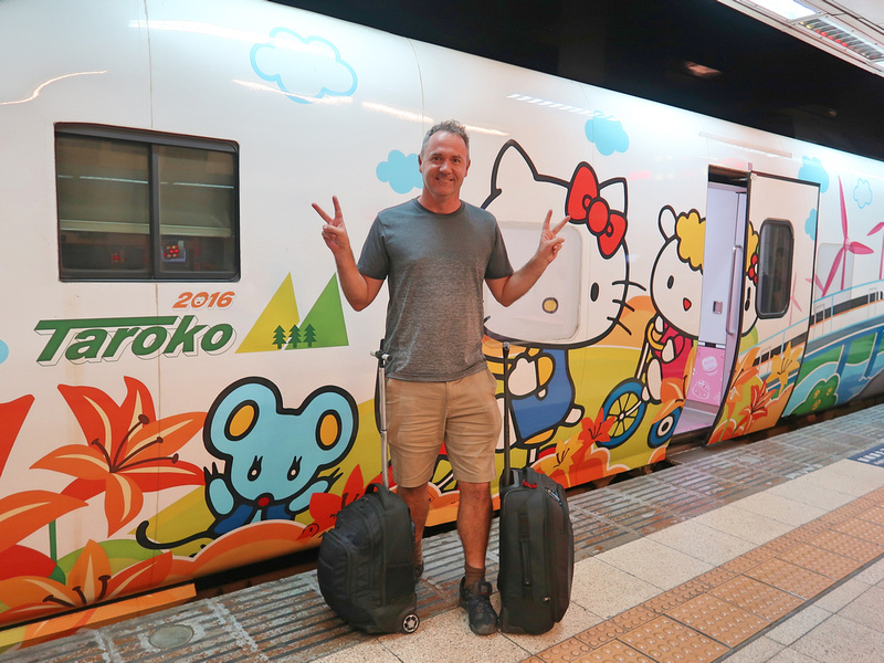 James and Hello Kitty train
