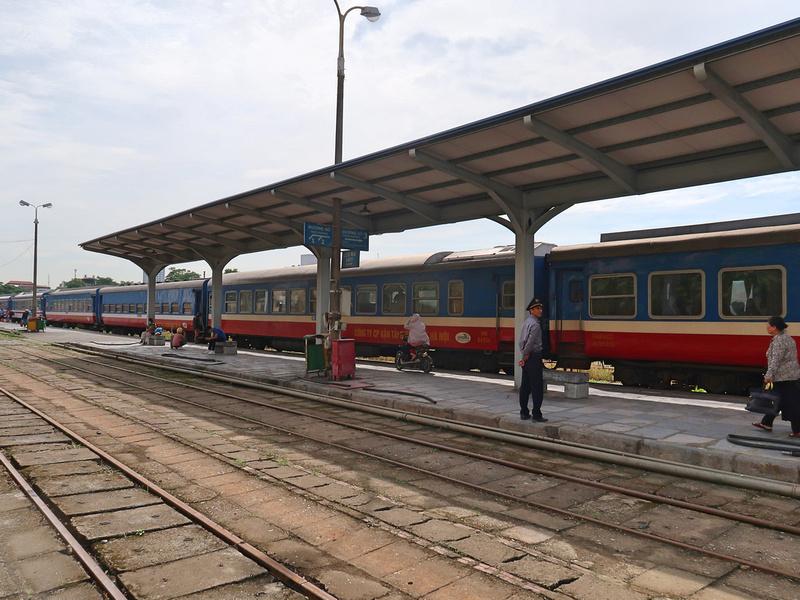 Hanoi train at Haiphong