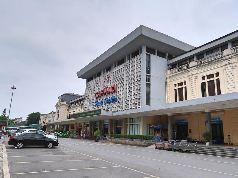 Ga Ha Noi Entrance