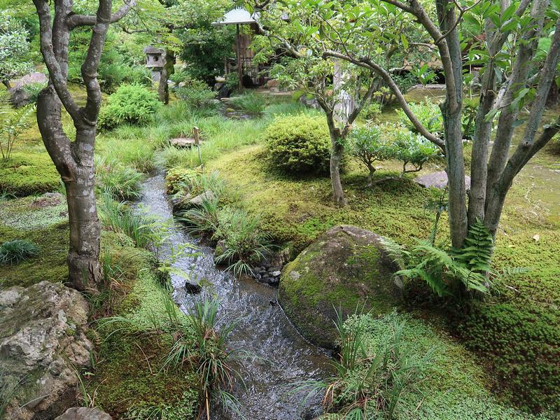 Sogenchi Garden stream