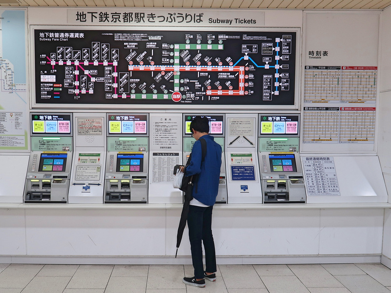 Kyoto Subway tickets