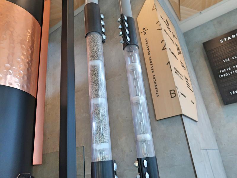 Coffee tubes