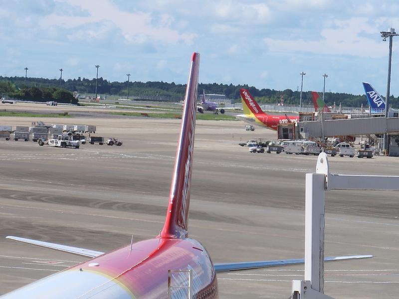 VietJet aircraft at NRT