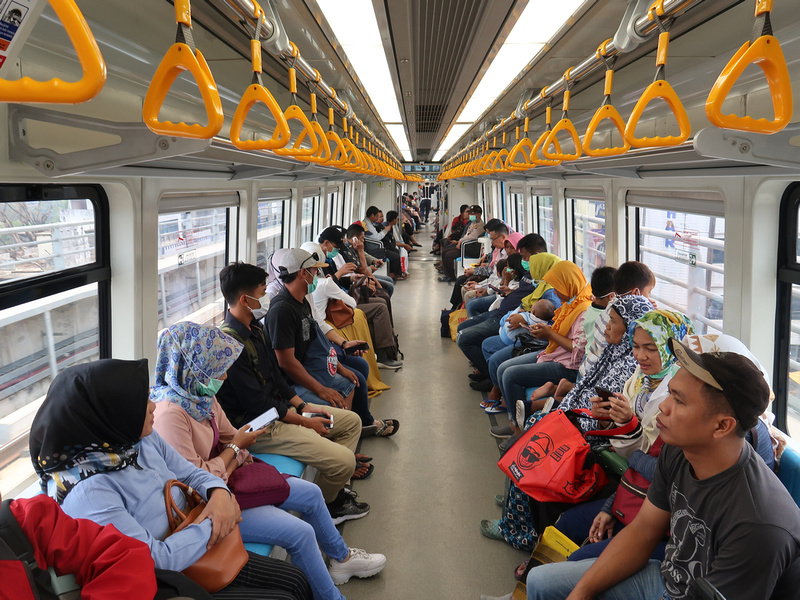 LRT Passengers