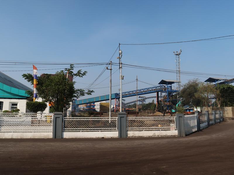 Coal port at Kertapati station