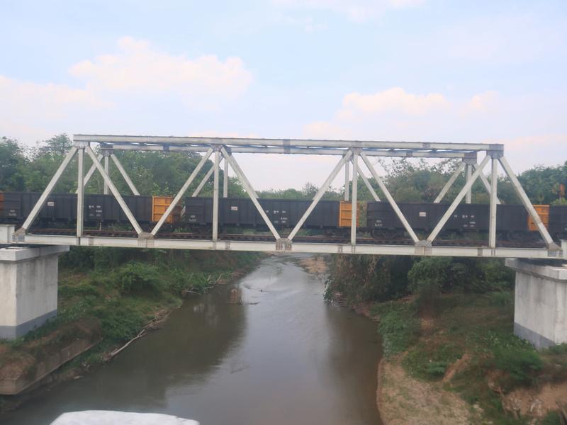Coal railway bridge