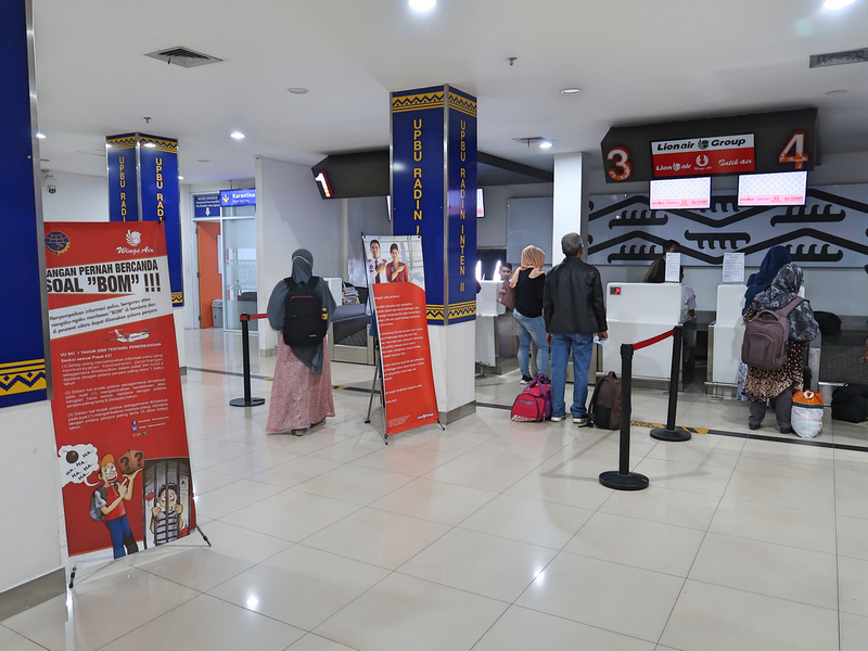 Lion Air check-in