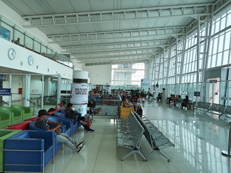 Departures airside