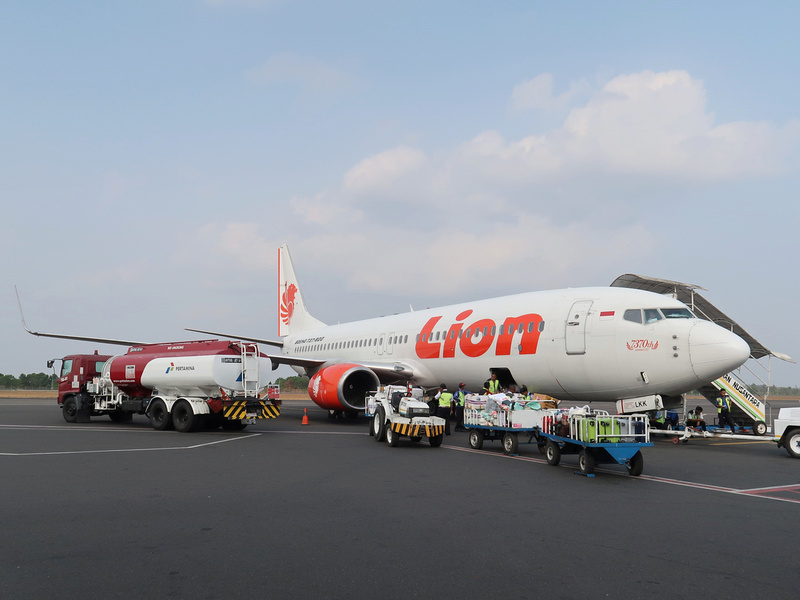 Lion Air at Bandar Lampung