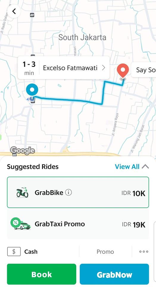 Grab South Jakarta