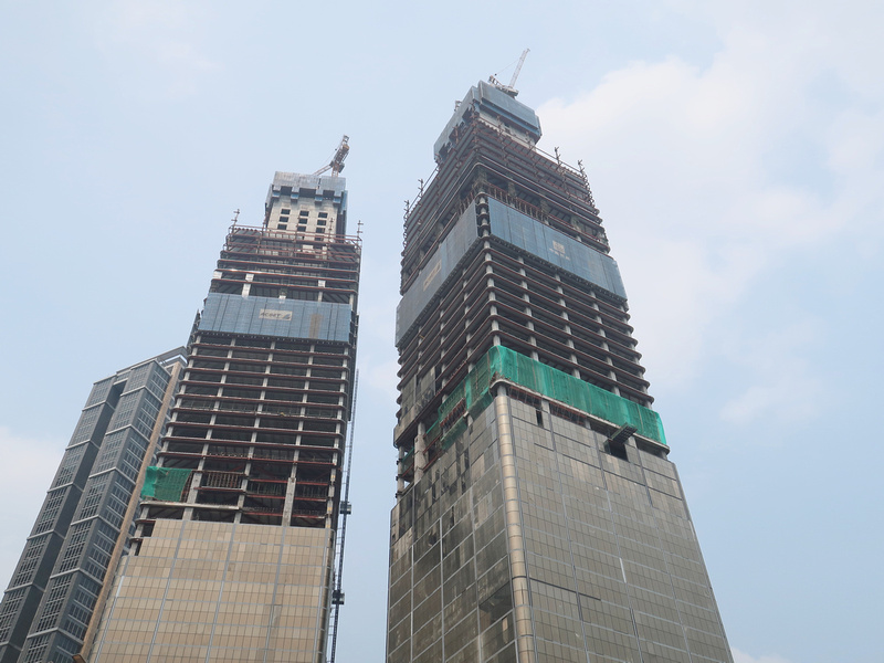 Indonesia-1 Tower under construction