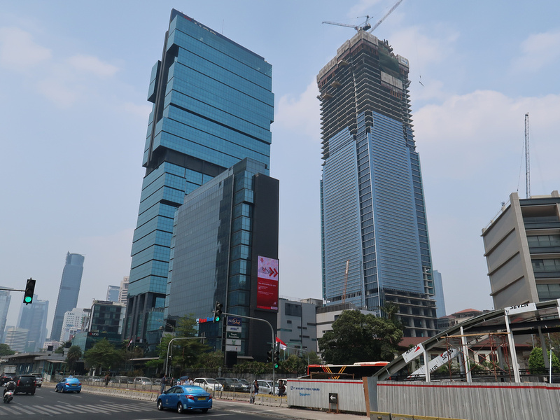 Thamrin Nine Construction