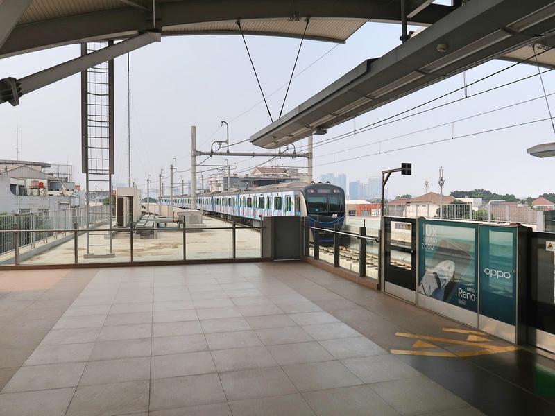 Cipete Raya Station